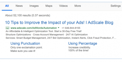 10 Tips to Improve the Impact of your Ads!