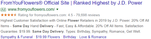fromyouflowers Ad